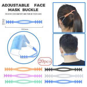 Quality Gear Adjustable Anti-Slip Mask Ear Extension Strap Mask Hook Prevent Ear-pulling Adjustable Mask Rope Extension Buckle for sale