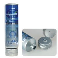Quality 80ml PCR Recycled Cosmetic Tube Containers Silk Print for sale