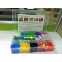 Quality Crazy rainbow loom rubber band bracelet loom band for sale