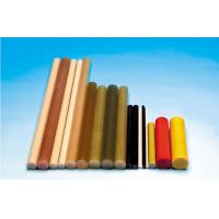 Quality Polish Pultruded Fiberglass Rod , Brown FRP Composite Insulator Rod for sale