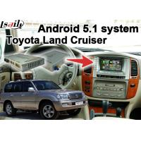 Buy Toyota Land Cruiser LC100 LC200 Android Navigation Video Interface Upgrade Touch Navigation WIFI at wholesale prices