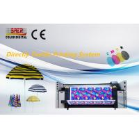 China Roll To Roll Digital Fabric Printing Machine / Direclty Textile Printing System on sale