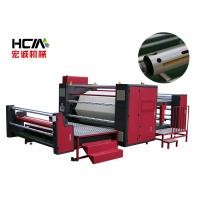 Quality Semi Automatic Rotary Heat Press Machine For Roller Fabric 220V / 380V for sale