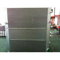 Quality Aluminum Air Compressor Heat Exchanger / Combined Oil-Air Cooler / Vacuum Brazing for sale