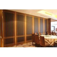 Buy cheap Customized Hotel Restaurant Soundproofing Sliding Partition Walls with Ceiling Rails from wholesalers