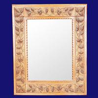 Quality 4036 Square Pattern Accent Home Wall Decor Mirror Frame for sale