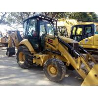 Quality CAT 420F Used Backhoe Loader 101HP Engine Power 4 In 1 Bucket A/C Cabin for sale