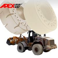 Quality APEX 25 inch OTR Non-marking Solid Tyre for 15.5-25, 16.00-25, 17.5-25, 18.00-25, 20.5-25, 23.5-25, 26.5-25, 29.5-25 for sale
