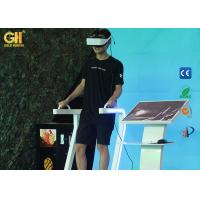 Buy cheap Safety VR Theme Park 9D Virtual Reality Standing Up Simulator For Movie Theater from wholesalers