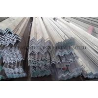 Quality Polished Stainless Steel Angle Bar / Equal Angle Bars 304 Hot Rolled for sale