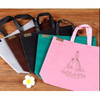 Quality Friendly Customized Promotion Non-woven Handled Shopping Bag with logo for sale