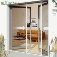 Quality UV Resistant Roll Up Fly Screen Door With Long Service Life REACH Certificate for sale