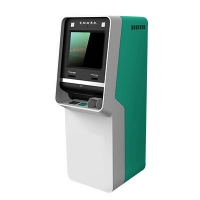 China AIO Free Standing Machines , J1900CPU Self Service Payment Terminal. (build-in wall design sample) on sale