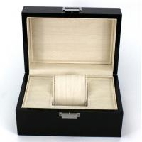 Quality Rectangle Highend Jewelry Wooden Box With Silk Screen Printing Logo for sale