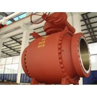 China Class 150 / 300 / 600, WCB / WC6 Trunnion Mounted, Full Bore API Ball Valve on sale