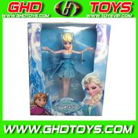 Quality 2014 Induction Flying Frozen Snow Romance ,plastic toys for sale