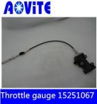 Quality Terex basculante truck throttle gauge 15251067 for sale