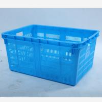 Quality HDPE Plastic  Square plastic  crate  , Plastic Shopping Basket for sale