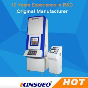 Buy cheap 12v 17ah Pneumatic Clamping Li Ion Battery Tester / Battery Crush Tester product