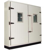 China Mini 9 Cubic Interior Walk In Test Chamber Perfect Sealing With Silicon Gasket on sale