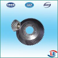 Quality OEM hot forging helical bevel gears for differential case for sale