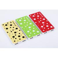 Quality 8000 mAh Power Bank Chargers , Li - on Battery High Capacity Power Bank for sale