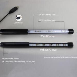 Quality 20cm Cable 2W 5V OEM UVC Led Handheld Sterilizer for sale