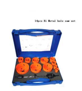 Quality JWT 14PCS HSS Bi Metal Hole Saw-professional manufacture,best quality for sale