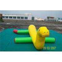 Quality Durable Inflatable Water Games Lake Blow Up Toys For Kids Plato PVC Tarpaulin Material for sale