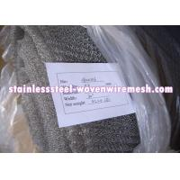 """Quality Crimped Stainless Steel Knitted Mesh Width 30"""" / 42 Inch Wear - Resistance For Oil - Gas Separation for sale"""