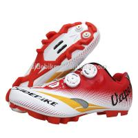 Quality Good Shock Absorption MTB Cycling Shoes , Mens Mountain Biking Shoes EVA Insole for sale