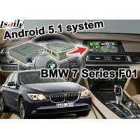Quality Mirror Link Youtube Bluetooth Wifi Gps Navigation Box Video Interface For Bmw F01 7 Series Cic System for sale