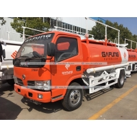 Quality Dongfeng 5m3 5000litres Fuel Delivery Truck Refilling Tanker with Oil Dispenser for sale
