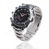 Quality 2.0 Mega Pixels 1080P HD Waterproof Pinhole Watch Hidden Video Camera With Night Vision for sale