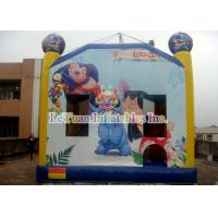 Quality Disney's Lilo & Stitch inflatable bouncy castle / Interesting Inflatable Bounce House for sale