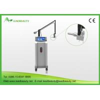 Quality Vertical type CO2 Fractional Laser RF Tube Scar removal skin resurfacing machine for sale