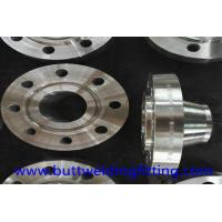 Quality Nickel Alloy Steel NO6600 Forged Steel Flanges Welding Neck Flange PN16 DN100 for sale