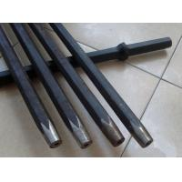 Mining Integral Rock Drilling Tools , Quarrying Plug Hole Drill Rod