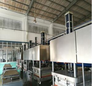 Semi Automatic Tableware Making Machine , High Speed Paper Dish Making Machine