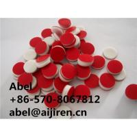 Buy cheap teflon ptfe/silicone septa rubber septa septum liner ultra low bleed from wholesalers
