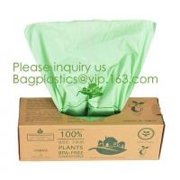China eco friendly compostable biodegradable plastic t-shirt shopping bags,Recycle kitchen the pack 100 biodegradable cornstar on sale