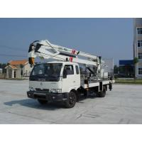 Quality 14m Dongfeng Single Cab Light Aerial Truck with Crane for sale