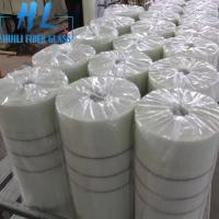 Quality 10x10mm White Color 110 g/m2 Fiberglass Mesh For Marbles , Long Service Life for sale