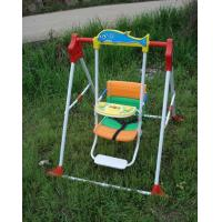 Quality 2012 Luxury Foldable Kids Swing with Foot Stand and Music for sale