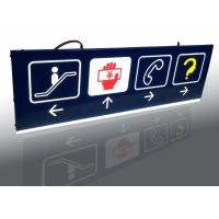 Quality Shopping Mall Interior Wayfinding Signage , Double Sides Outdoor Wayfinding Signs for sale