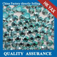 China korean octagon aluminiu hot fix rhinestuds& iron on stud,high quality octagon hot fix rhinestud 0825 on sale