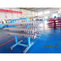 Quality 275KV,160kN Composite Silicone Insulator Long Rod With Eyes Fittings for sale