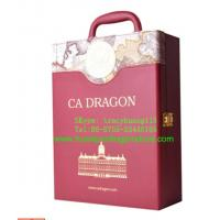 Quality Red handle Cases for Wine for sale