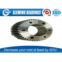 Quality Custom Open Die Forging Gear And Shaft Set Carbon Steel For Machine for sale