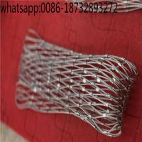 China stainless steel wire rope/steel cable/stainless steel cable netting/steel wire rope/steel rope/flexible steel mesh on sale